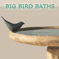 Big Bird Baths Props/Scenes/Architecture Themed 3DDellusion