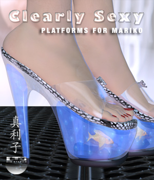 DTG Studios' Clearly Sexy Platforms for Mariko 3D Figure Assets DTHUREGRIF