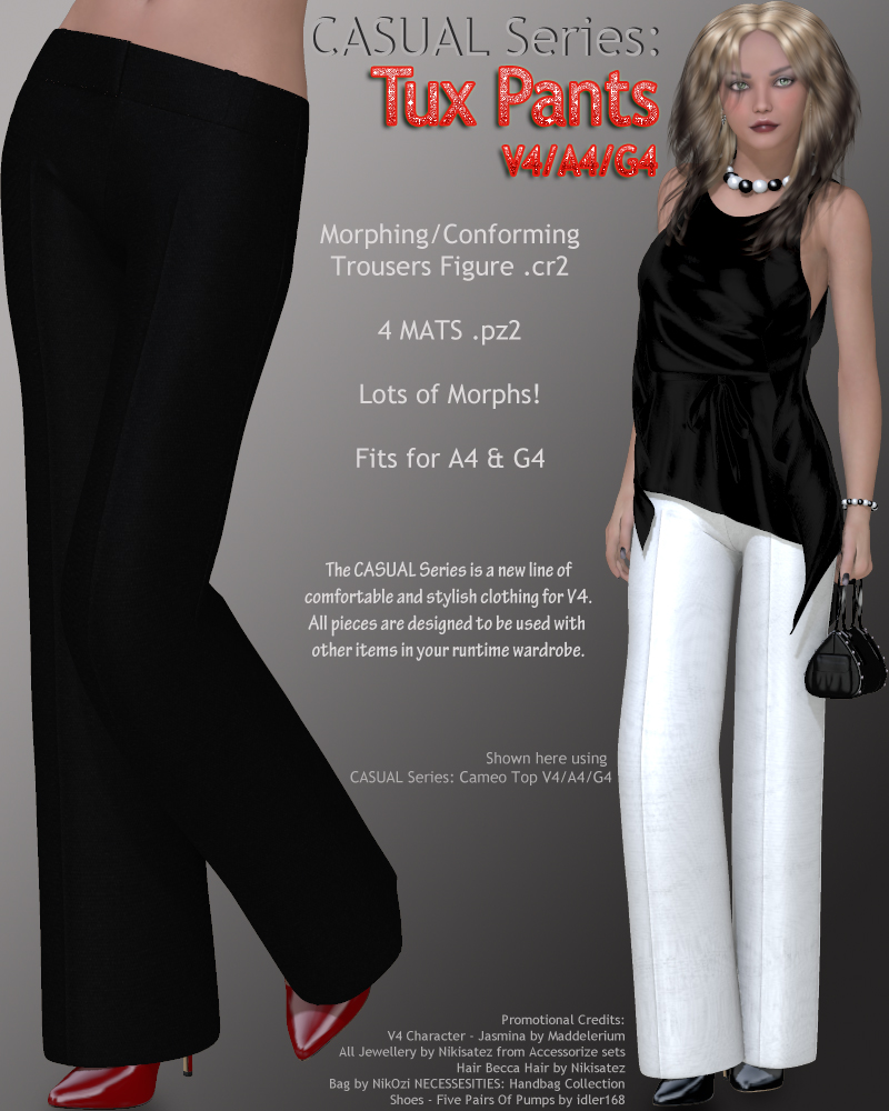 CASUAL Series: Tux Pants V4-A4-G4