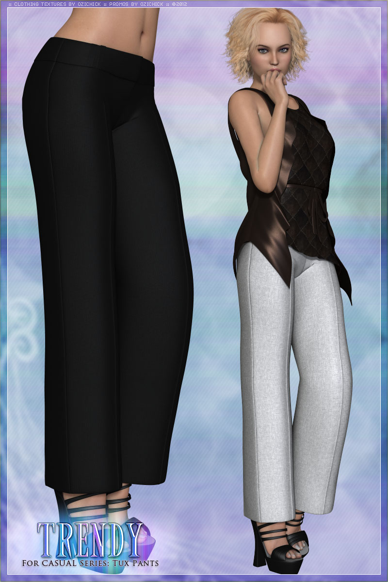 Trendy for CASUAL Series Tux Pants