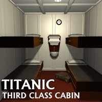 Titanic third class cabin Props/Scenes/Architecture Themed greenpots