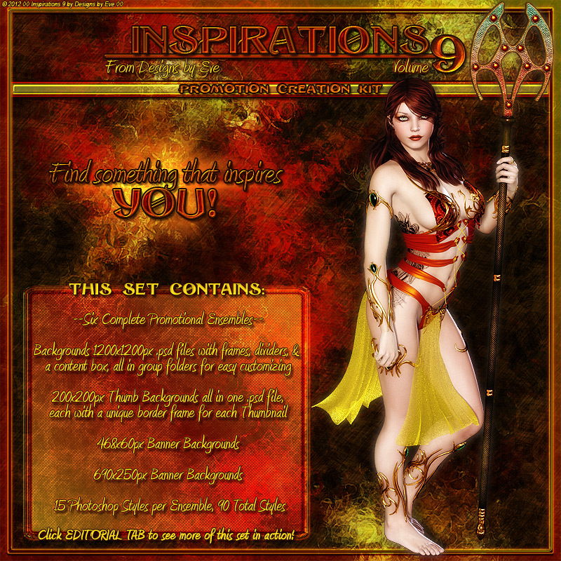 DbE-Inspirations 9 Promo Creation Kit