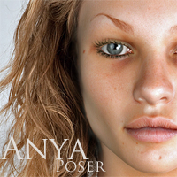Anya for Poser by adamthwaites 3D Figure Essentials adamthwaites