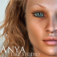 Anya for DAZ Studio by adamthwaites 3D Figure Essentials adamthwaites