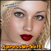 XpressUrSelf 3D Figure Assets Freja