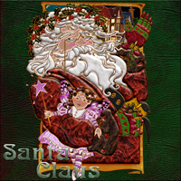 Harvest Moons Santa Claus 2D And/Or Merchant Resources Themed MOONWOLFII