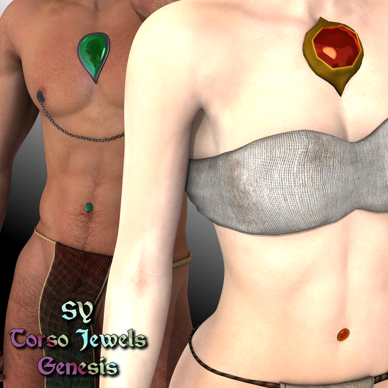 SY Torso Jewels Genesis