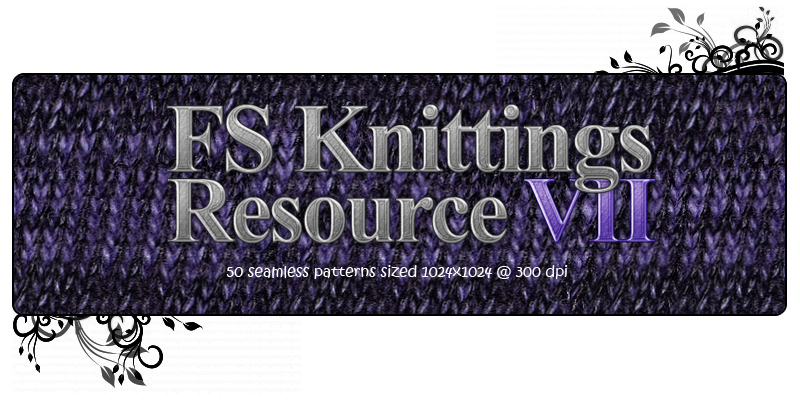 FS Knittings Resource VII