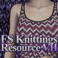 FS Knittings Resource VII 2D 3D Models FrozenStar