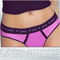 Lady Briefs Themed Clothing lilflame