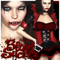 SHOOT 15 Bloodsucker Halloween Bundle 3D Figure Essentials 3D Models outoftouch