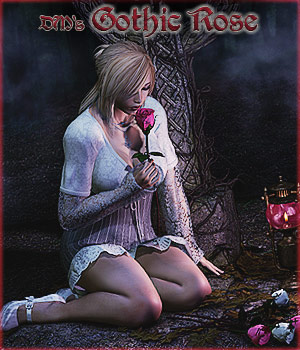 DM's Gothic Rose 3D Figure Essentials 3D Models Danie