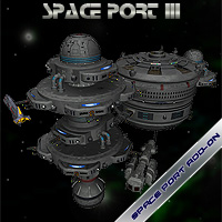 Space Port 3 Props/Scenes/Architecture Themed Simon-3D