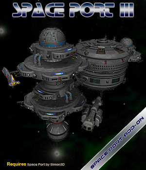 Space Port 3 3D Models Simon-3D