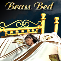 AW Brass Bed by awycoff