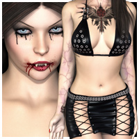SHOOTBabes Morgana 3D Models 3D Figure Essentials outoftouch
