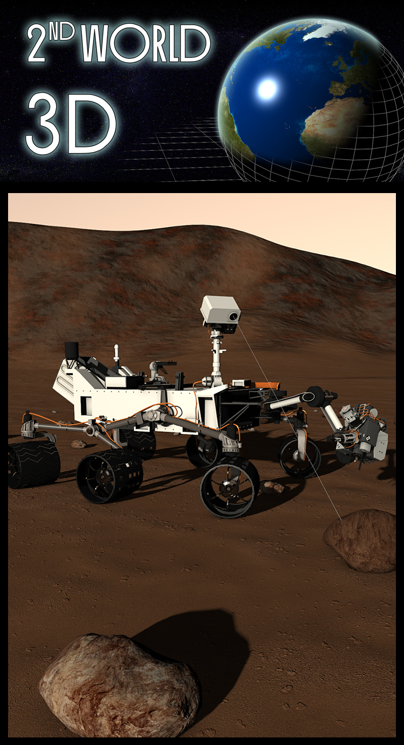 Mars rover Curiosity by 2nd_World