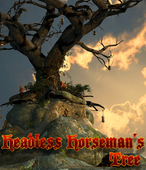 Headless Horsemans Tree 3D Models Cybertenko