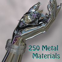Nikisatez Metal Materials 3D Figure Essentials 2D nikisatez