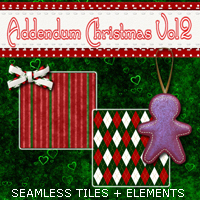 Christmas Blendz 02 2D And/Or Merchant Resources Themed 3DSublimeProductions