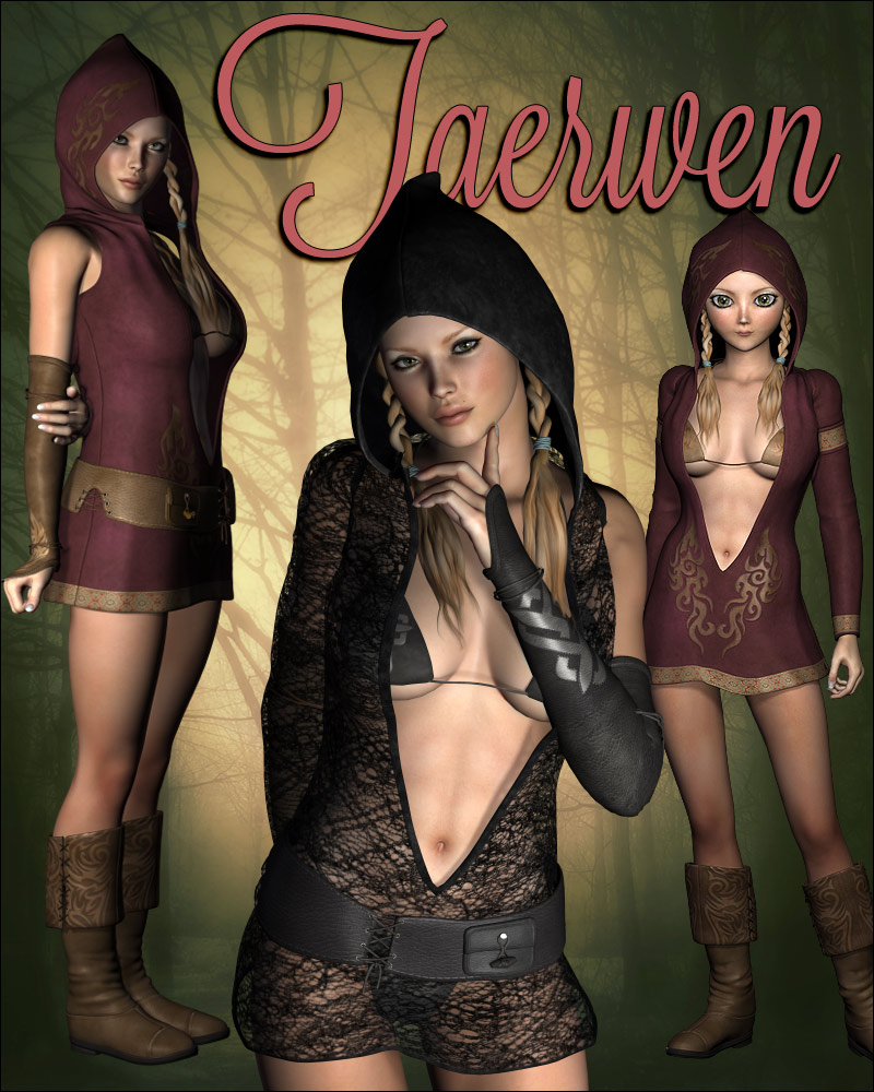 Taerwen Dress for V4, A4, G4