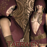 Taerwen Dress Themed Software Clothing RPublishing