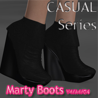 CASUAL Series: Marty Boots V4-A4-G4 3D Figure Essentials nikisatez
