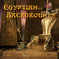 Egyptian Backgrounds by -Melkor-
