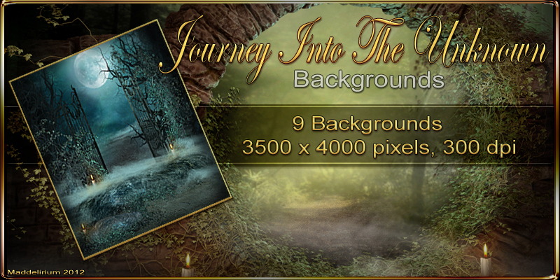 MDD Journey Into The Unknown Backgrounds by Maddelirium