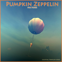 Pumpkin Zeppelin Software Transportation Themed 1971s
