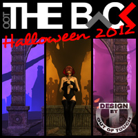 THE BACK Halloween 2012 3D Models Software outoftouch