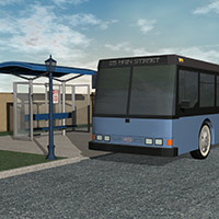 The Bus Stop 3D Models Richabri