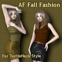 AF Fall Fashion Software Clothing Angelsfury2004