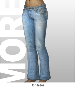 MORE Textures & Styles for Jeanz 3D Models 3D Figure Assets motif
