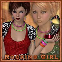 Rocking Girl Clothing Themed sandra_bonello