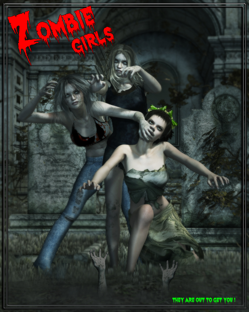 VHll Zombie Girls