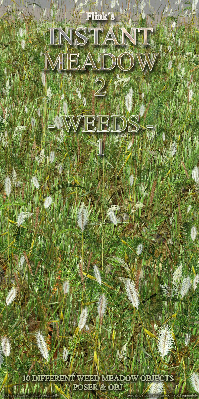 Flinks Instant Meadow 2 - Weeds 1