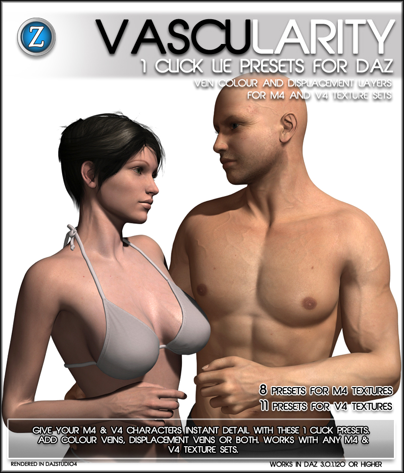 Vascularity For Daz
