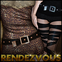Rendezvous for Diva 3D Figure Assets Sveva