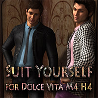 Suit Yourself for Dolce Vita M4 3D Models 3D Figure Essentials LizzieP
