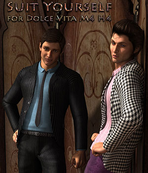 Suit Yourself for Dolce Vita M4 3D Models 3D Figure Assets Dream9Studios
