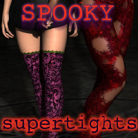 SF Spooky for the Supertights 3D Figure Essentials fuseling