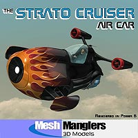 Strato Cruiser Transportation Props/Scenes/Architecture Software Themed keppel