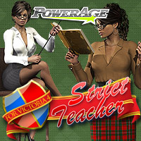 Strict Teacher V4/A4/G4/Elite Poses/Expressions Clothing Footwear powerage
