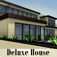 Deluxe House 3D Models TruForm