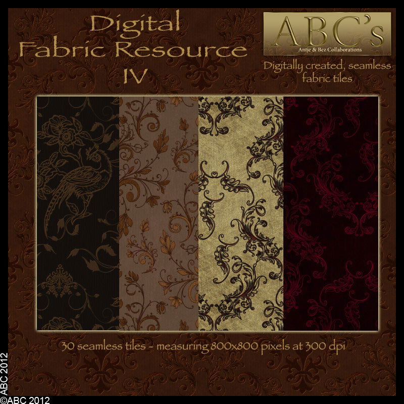 ABC's Digital Fabric Resource IV