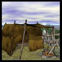 Smuggler/Trader's Camp for Tansy's Swamp Themed Props/Scenes/Architecture Ravyns