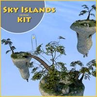 Sky Islands kit 3D Models 1971s