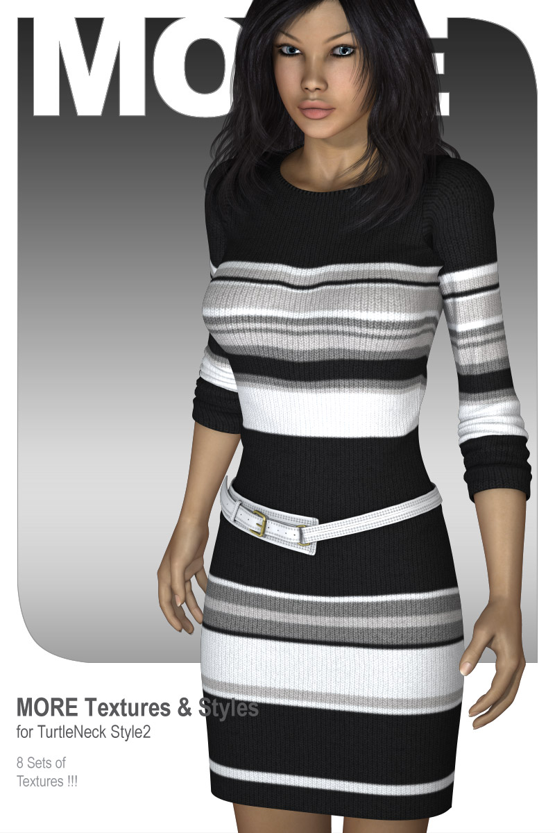MORE Textures & Styles for TurtleNeck Style2