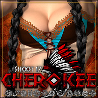 SHOOT 17: Cherokee 3D Models 3D Figure Essentials ShanasSoulmate
